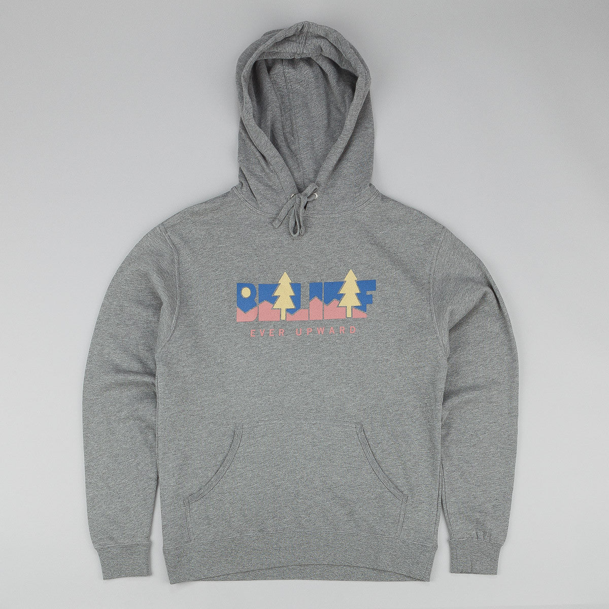 Belief Great Escape Hooded Sweatshirt - Heather Grey