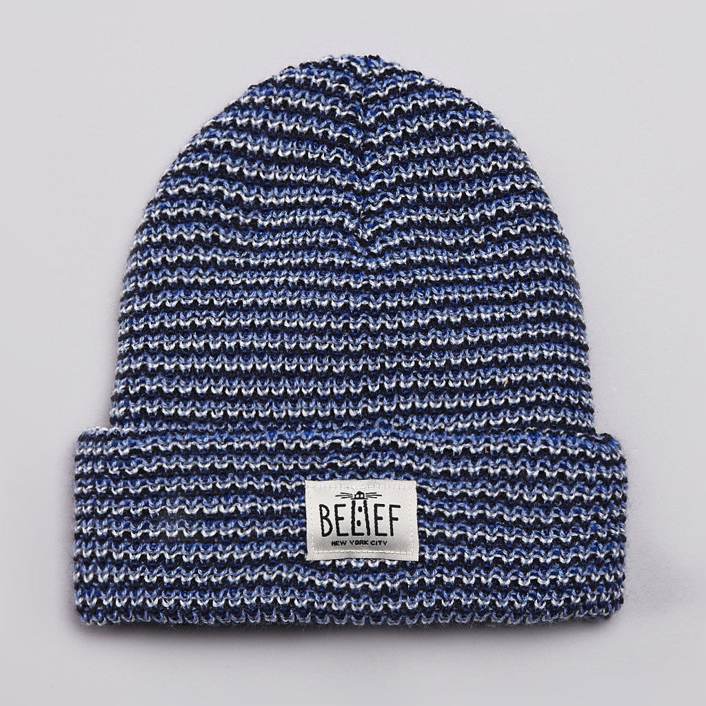Belief Lighthouse Watch Cap Beanie Blue