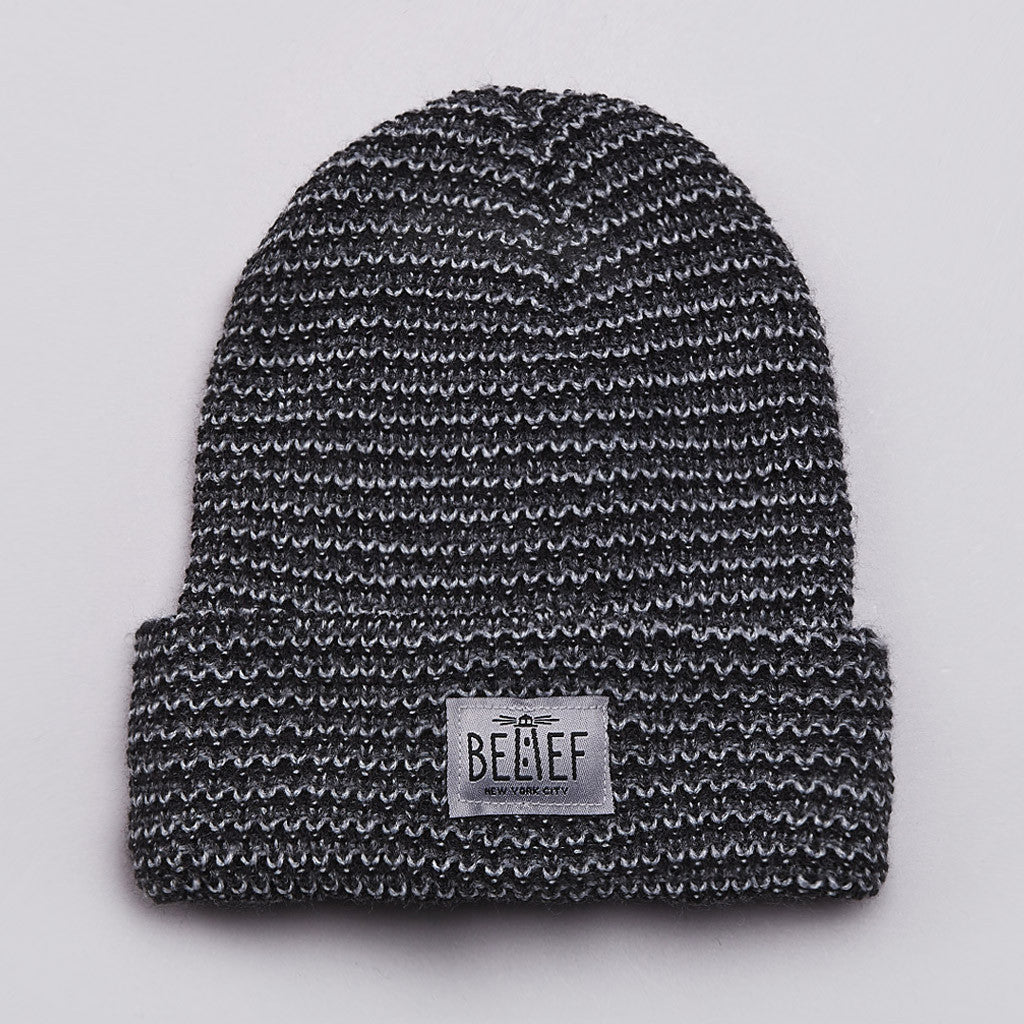 Belief Lighthouse Watch Cap Beanie Charcoal