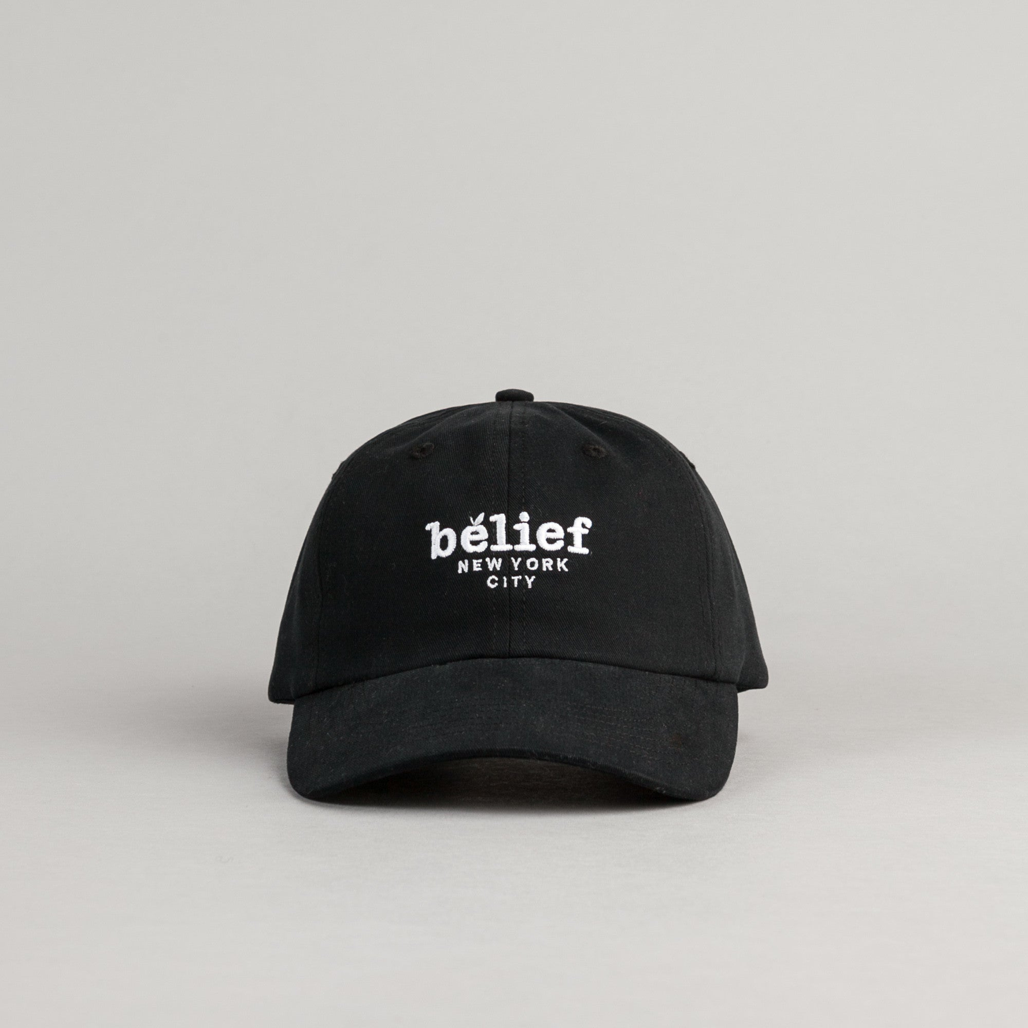 Belief Market Baseball Cap - Black
