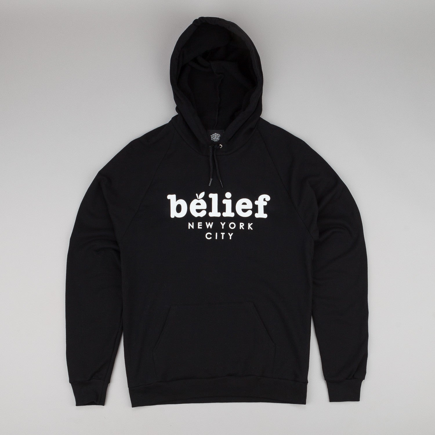 Belief Market Hooded Sweatshirt - Black
