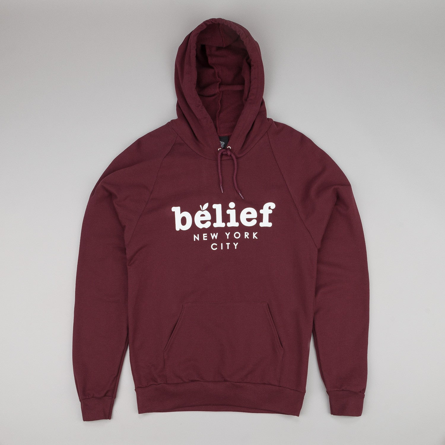 Belief Market Hooded Sweatshirt - Burgundy