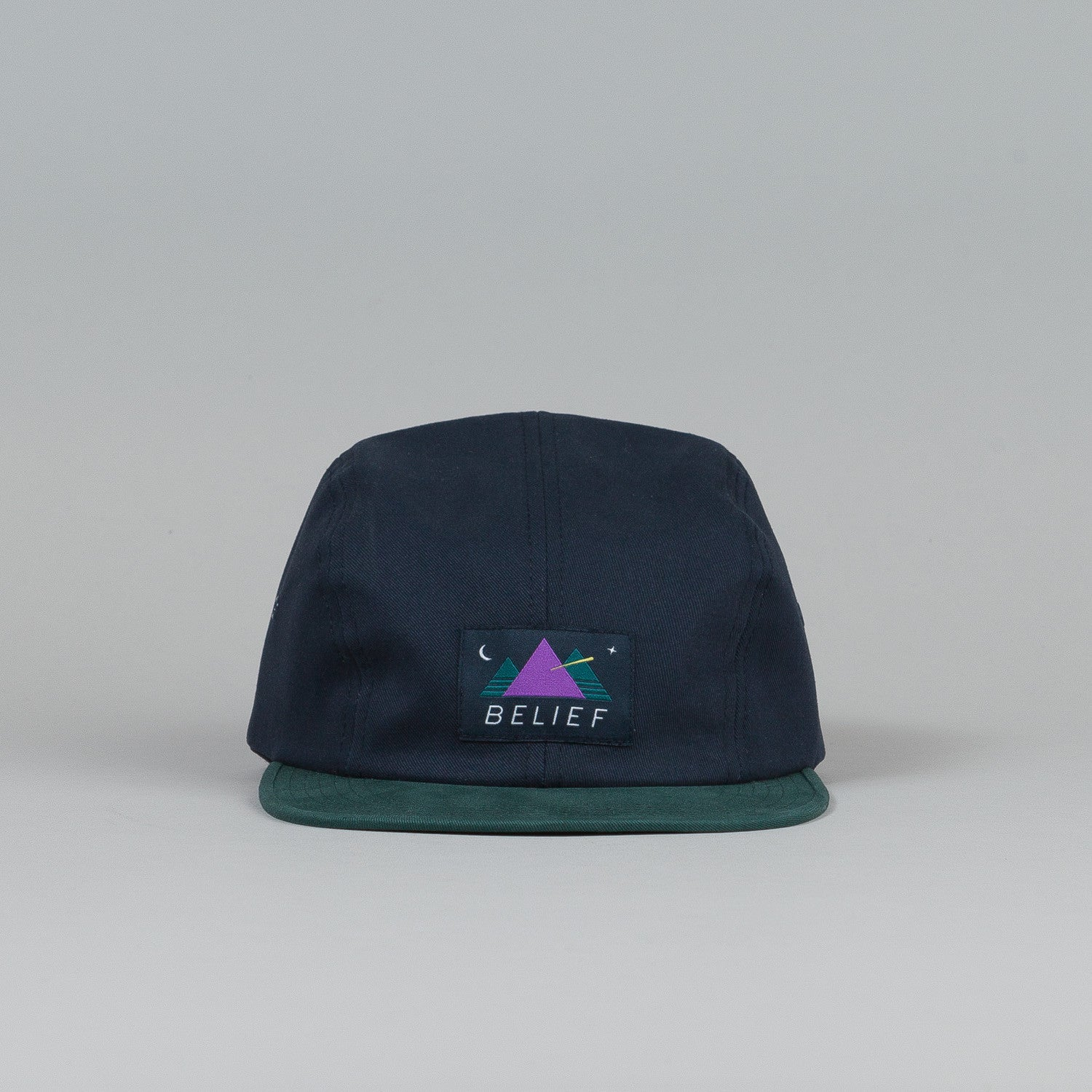Belief Observer 4 Panel Cap Navy / Mallard