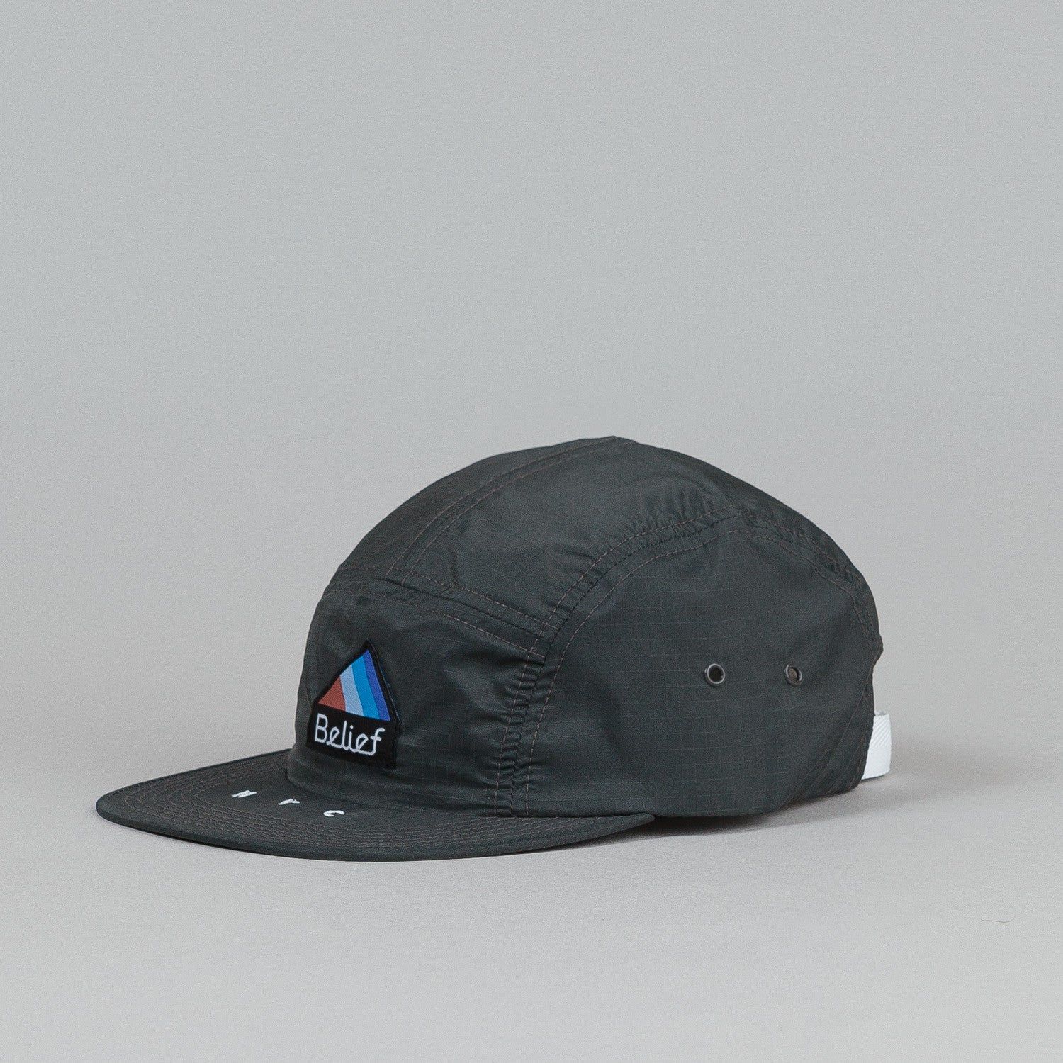 Belief Parachute 5 Panel Cap Charcoal
