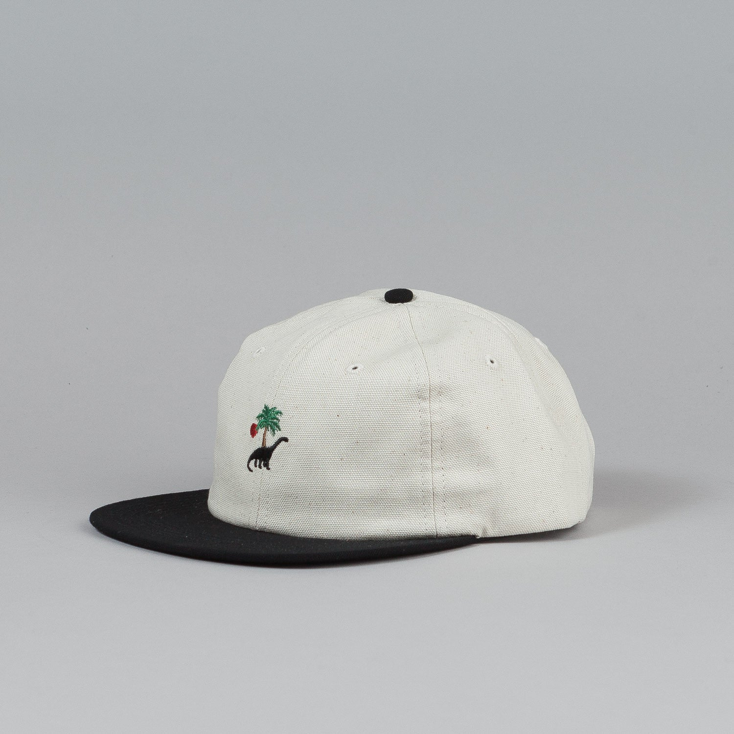 Belief Prehistoric 6 Panel Cap Bone / Black