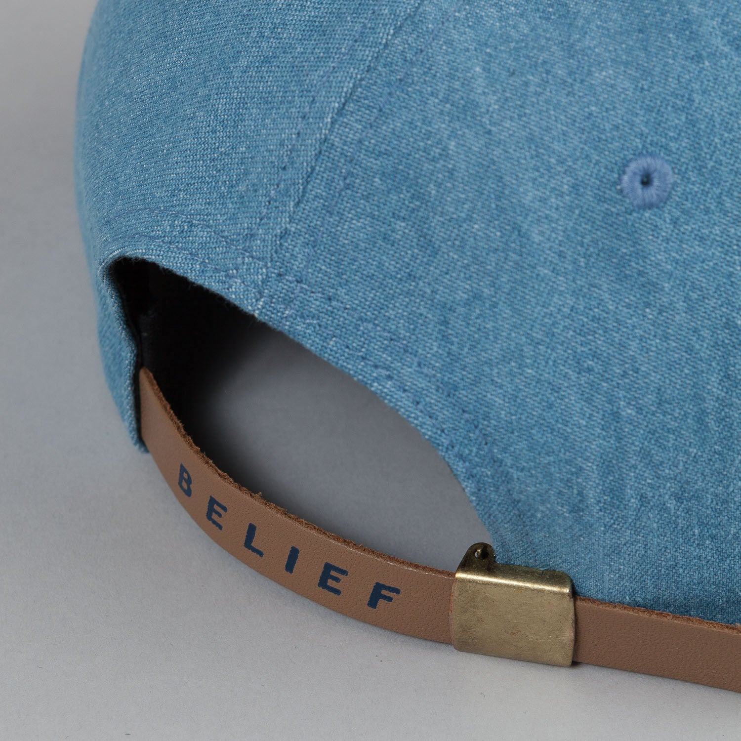 Belief Prehistoric 6 Panel Cap Denim / Navy