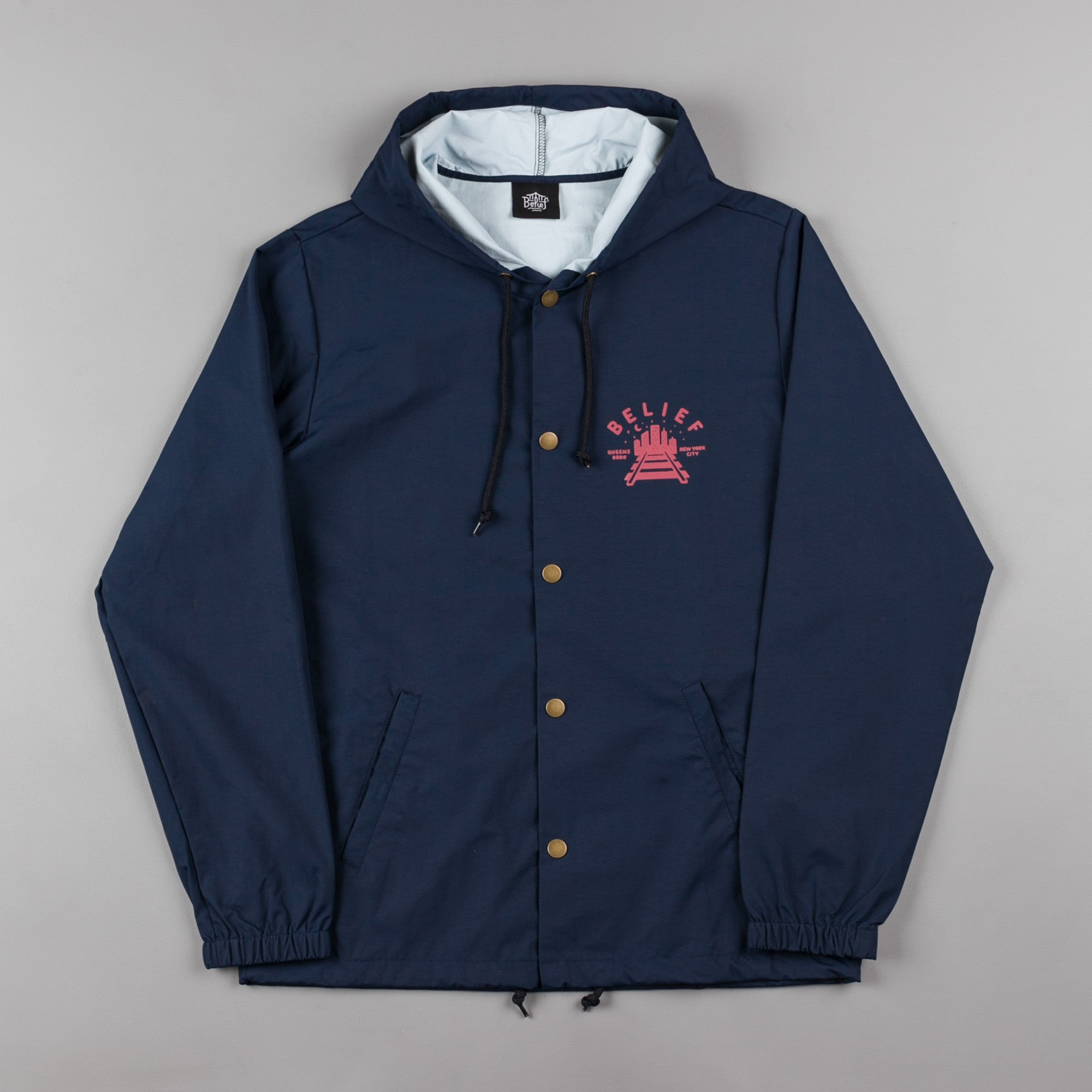 Belief Queensboro Jacket - Navy