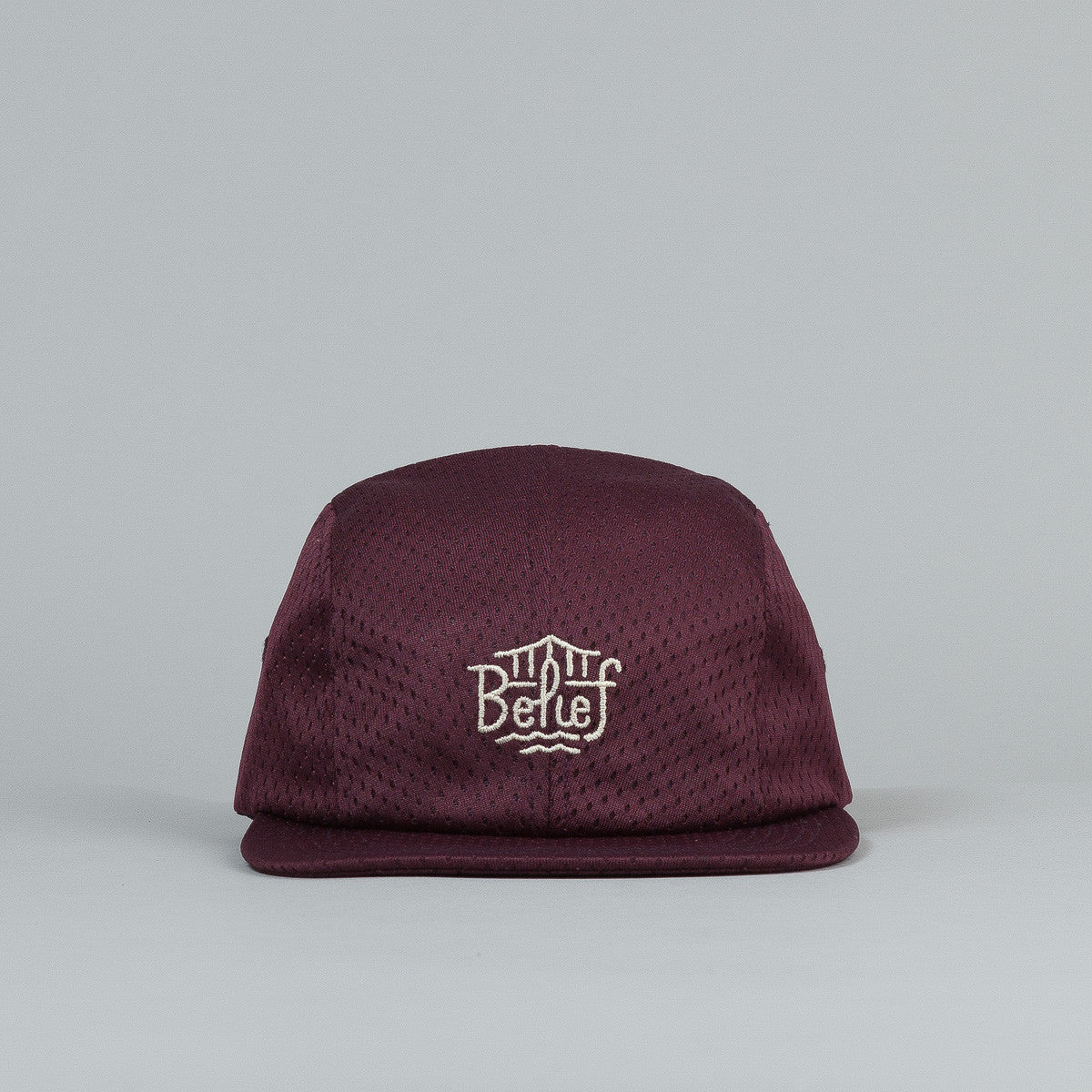 Belief Triboro 4 Panel Cap - Maroon