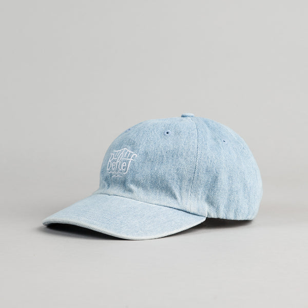 Belief Triboro Baseball Cap - Light Denim