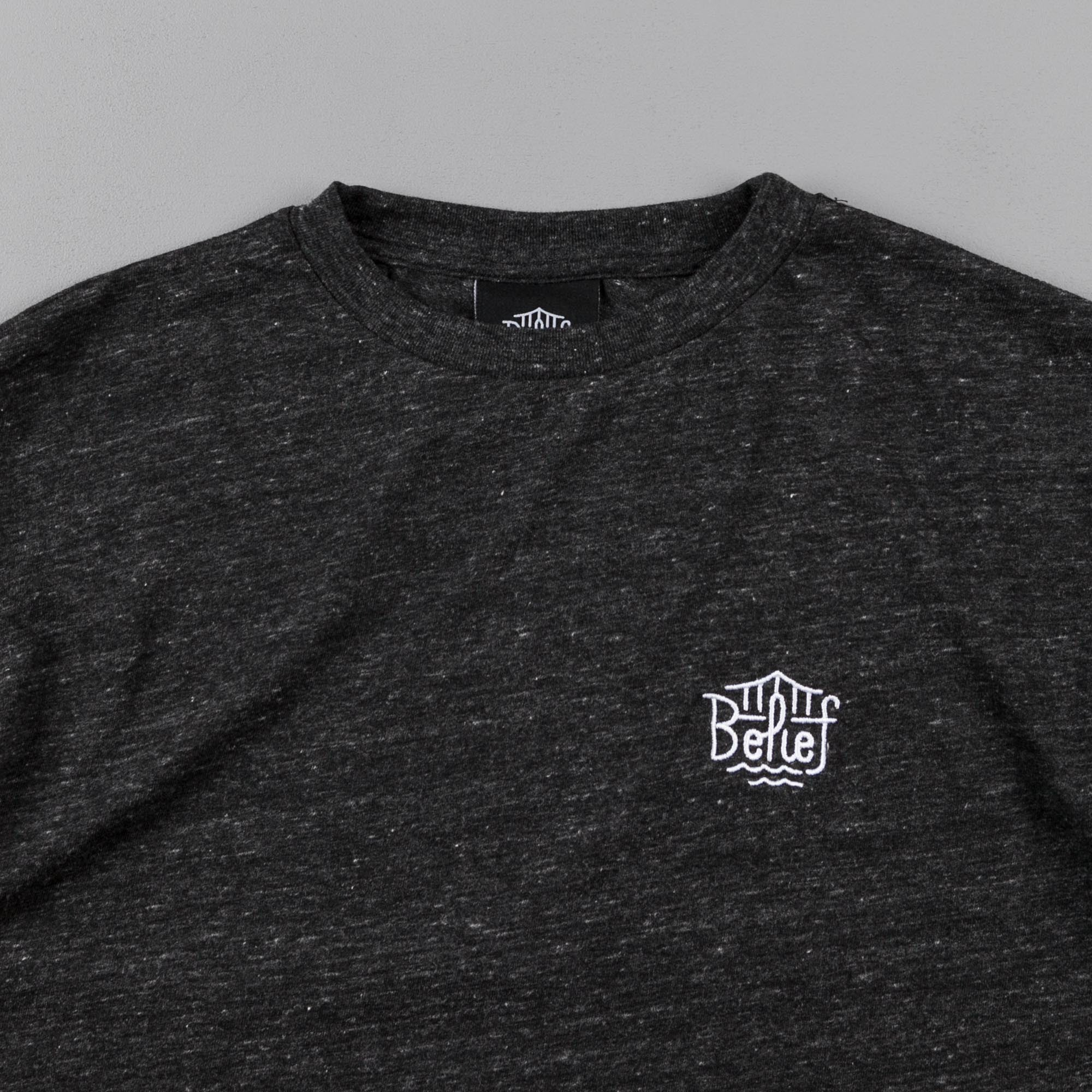 Belief Triboro Long Sleeve T-Shirt - Tri-Black