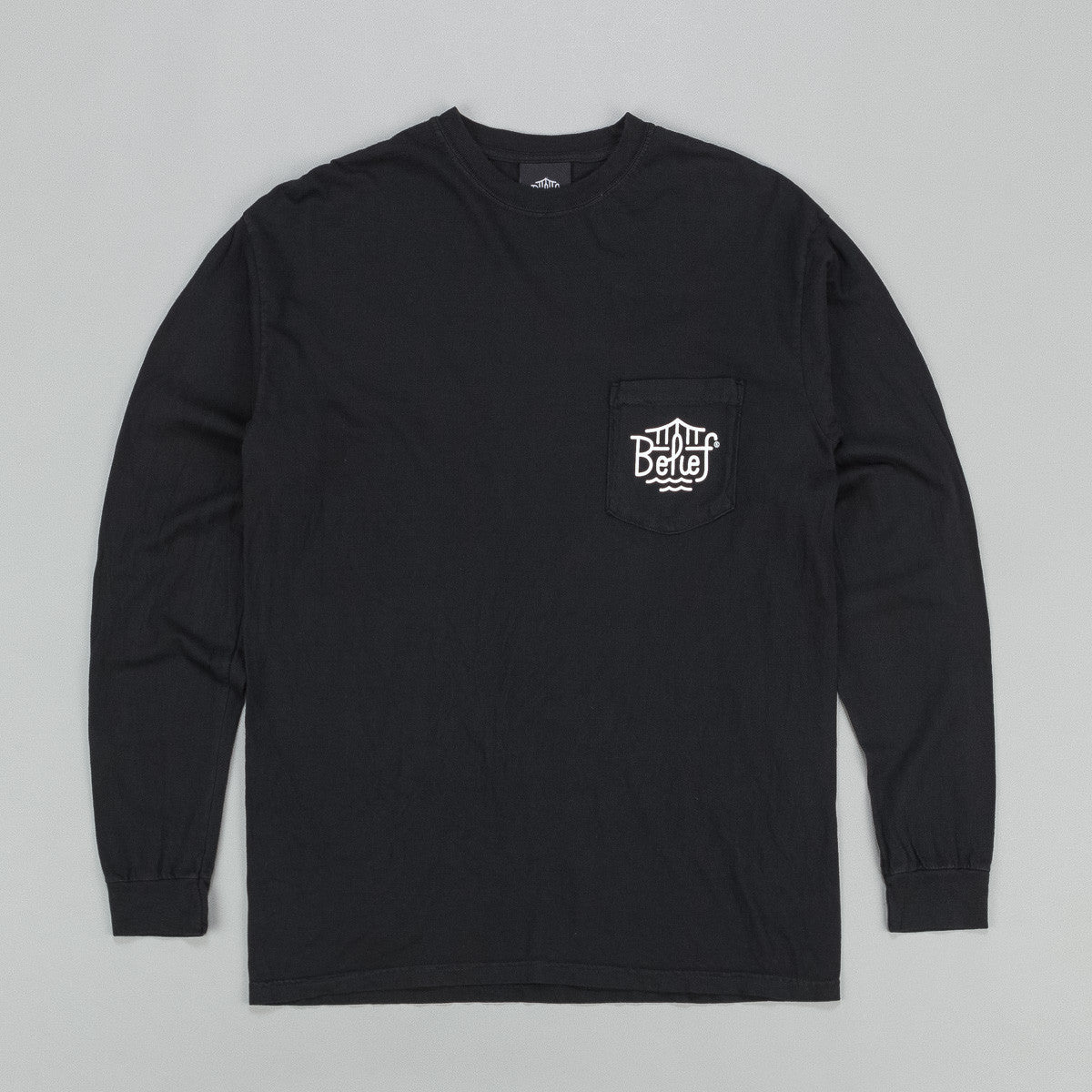 Belief Triboro Pocket Long Sleeve T-Shirt