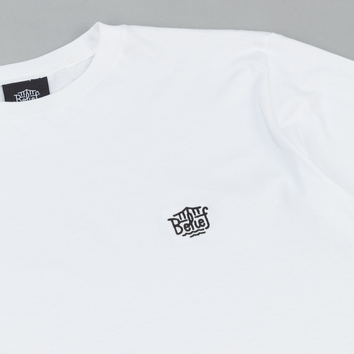 Belief Triboro Scoop T-Shirt - White