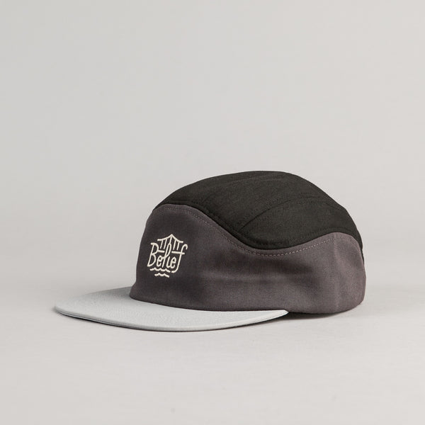 Belief Triboro Sport Cap - Black / Charcoal / Silver