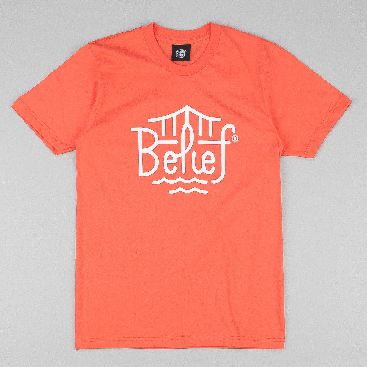 Belief Triboro T-Shirt - Coral