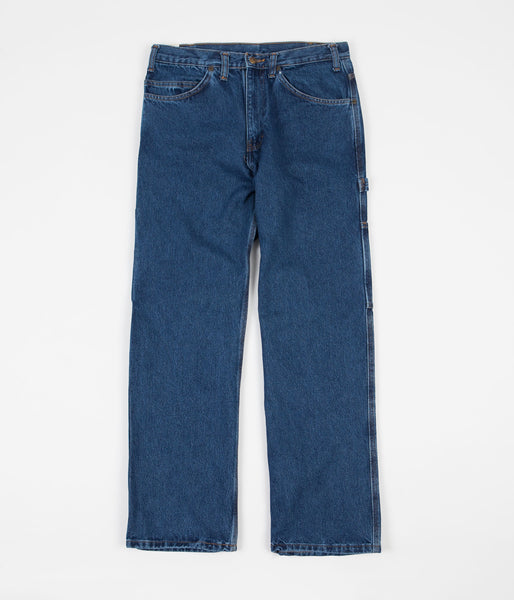 Ben Davis Carpenter Pants - Washed Indigo Denim