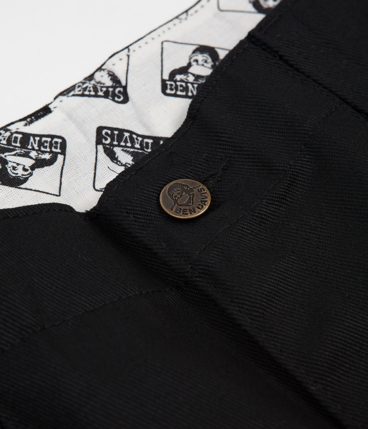 Ben Davis Original Ben's Work Trousers - Black