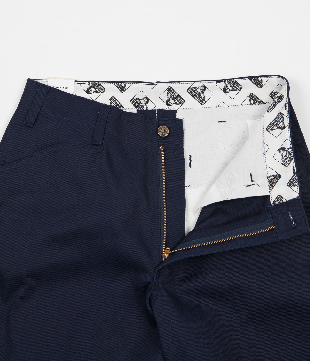 Ben Davis Original Ben's Work Trousers - Navy