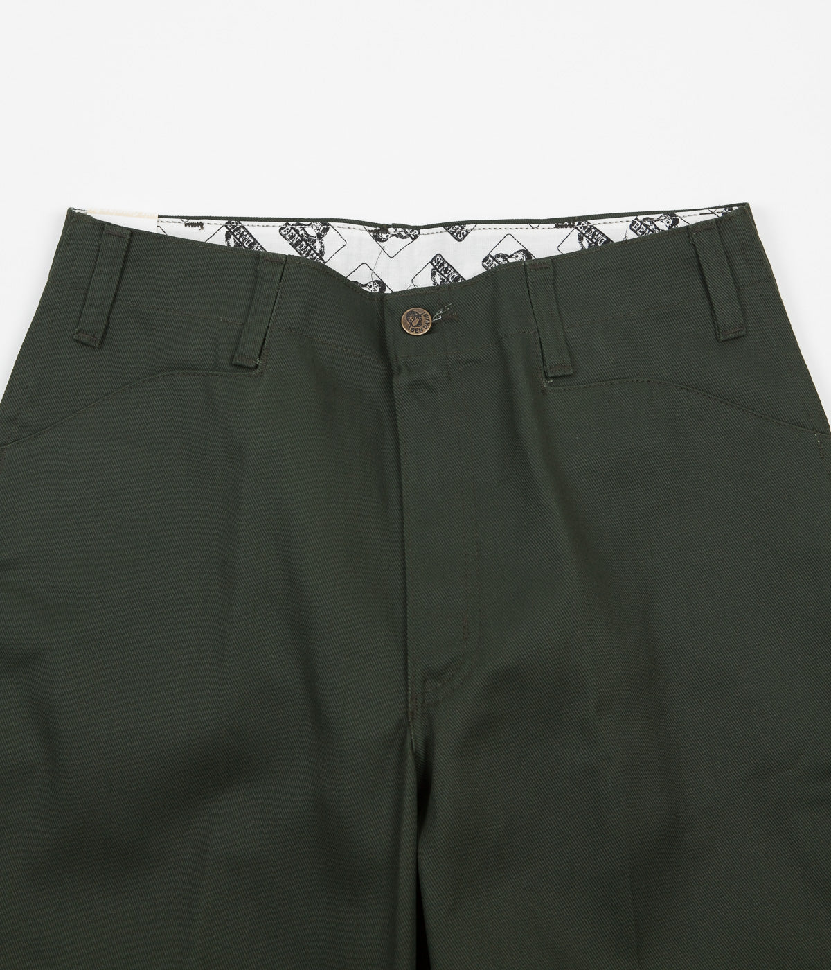 Ben Davis Original Ben's Work Trousers - Olive
