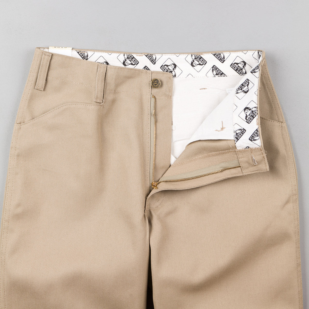 Ben Davis Original Ben's Work Trousers - Khaki