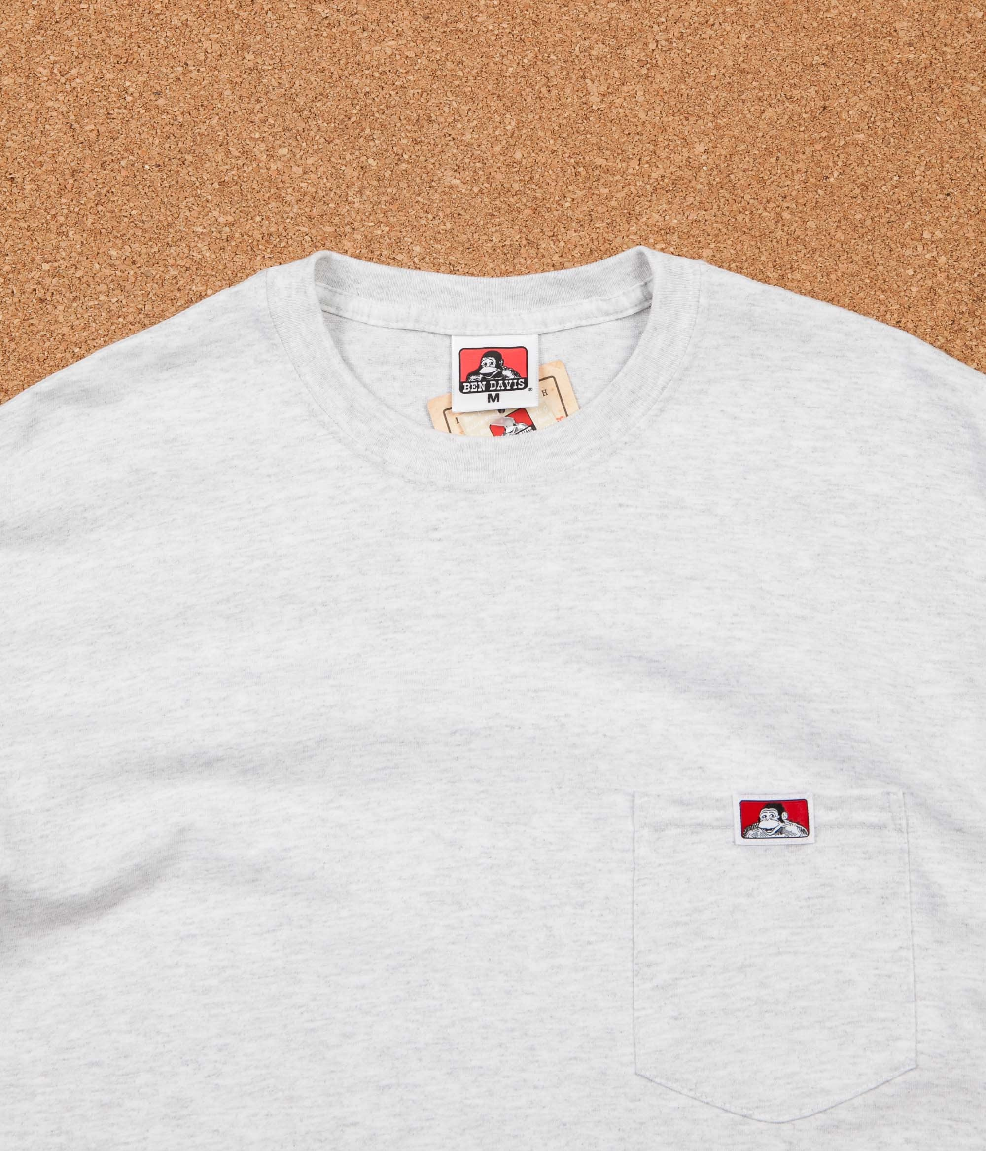 Ben Davis Pocket T-shirt - Ash Grey