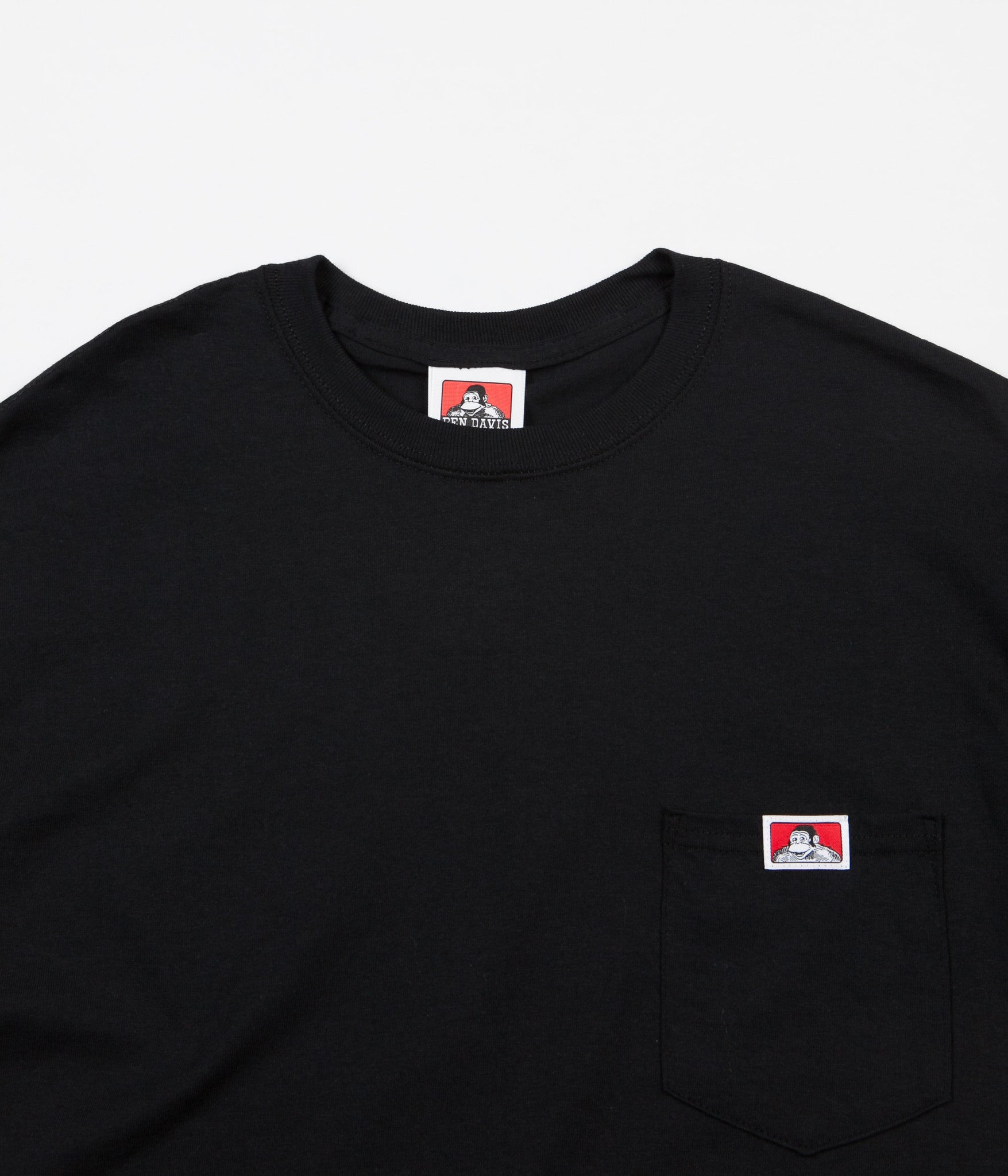Ben Davis Pocket T-Shirt - Black