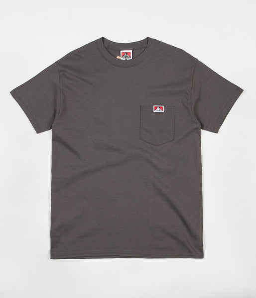 Ben Davis Pocket T-Shirt - Charcoal