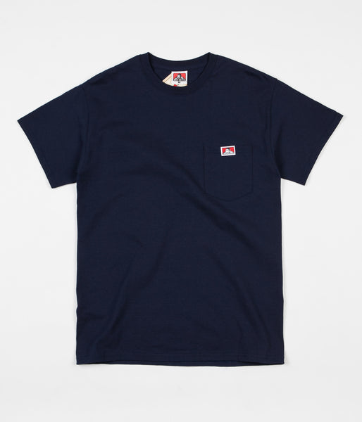 Ben Davis Pocket T-Shirt - Navy
