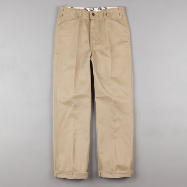 Ben Davis Trim Fit Work Trousers - Khaki