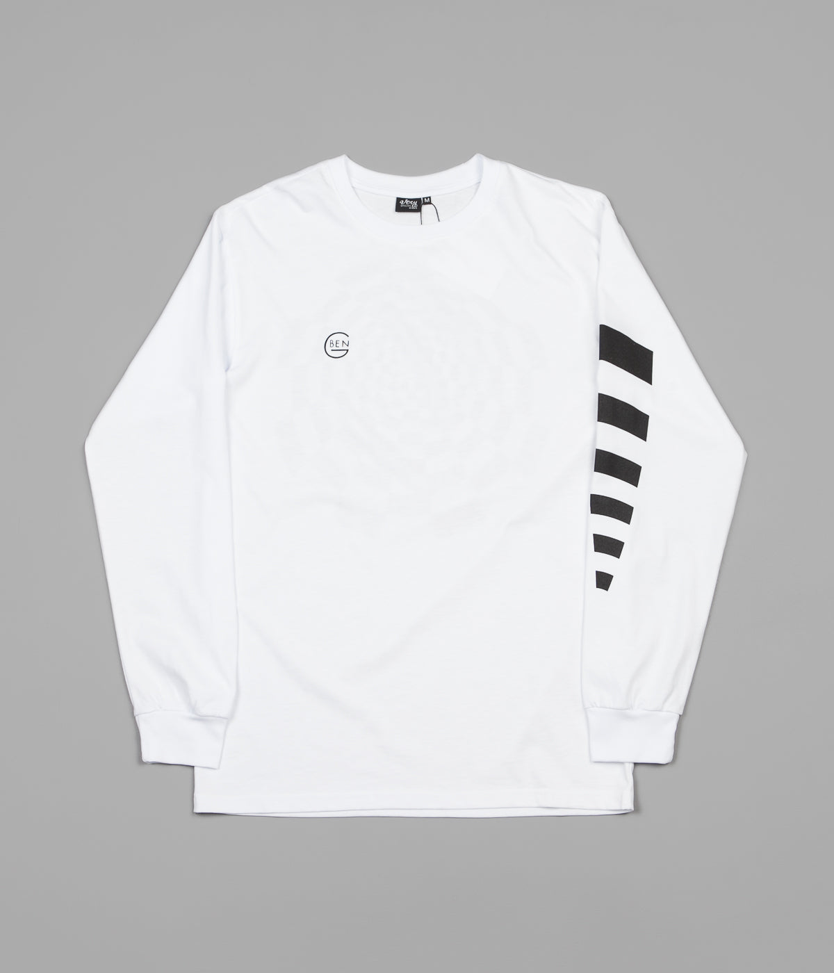 Ben-G Optic Long Sleeve T-Shirt - White