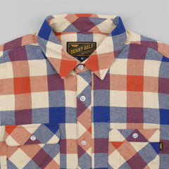 Benny Gold Cabin Flannel Long Sleeve Shirt - Rust