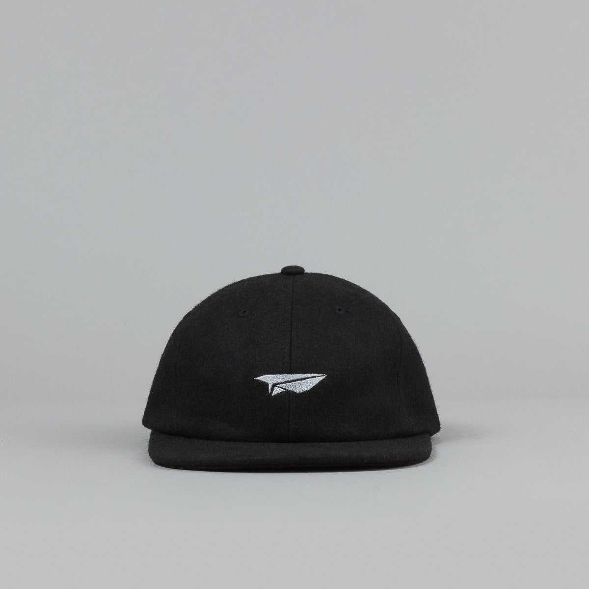 Benny Gold Classic Plane Wool 6 Panel Cap - Back