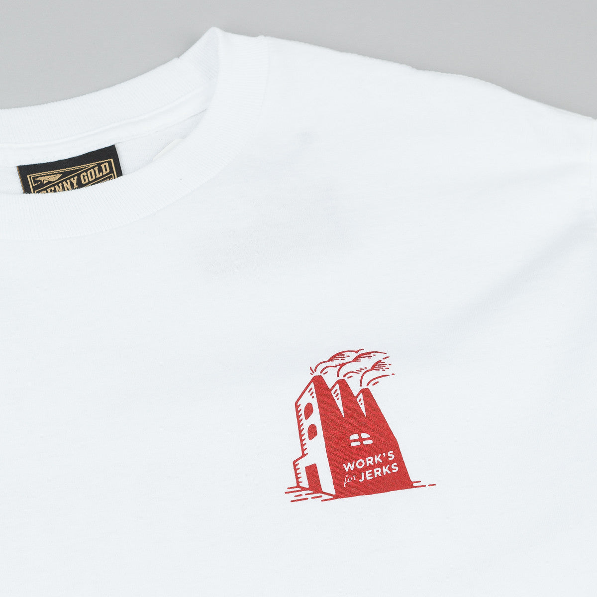 Benny Gold Factory Long Sleeve T-Shirt - White