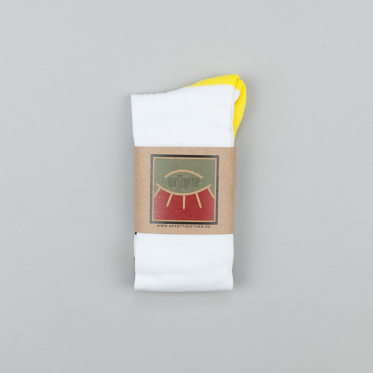 Blast Skates x AparTTogether Socks - White / Yellow