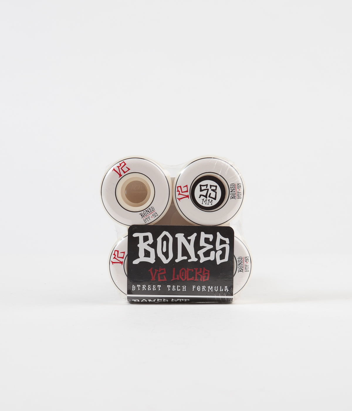 Bones STF V2 Annuals Locks 103a Wheels - White - 53mm