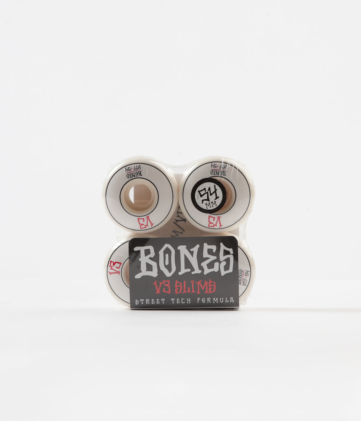 Bones STF V3 Annuals Slims 103a Wheels - White - 54mm