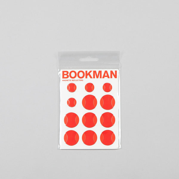 Bookman Magnetic Reflectors Red