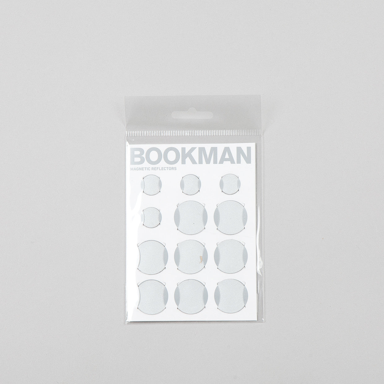 Bookman Magnetic Reflectors White