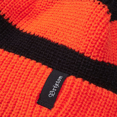 BRIXTON CARBY BEANIE ORANGE / BLACK