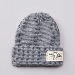 Brixton Borrego Beanie Light Heather Grey
