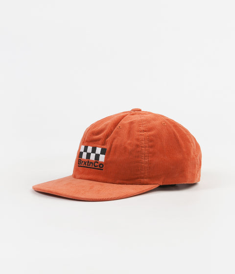 Brixton Burns Snapback Cap - Peach