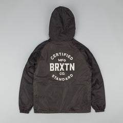 Brixton Cane Windbreaker - Charcoal / Black