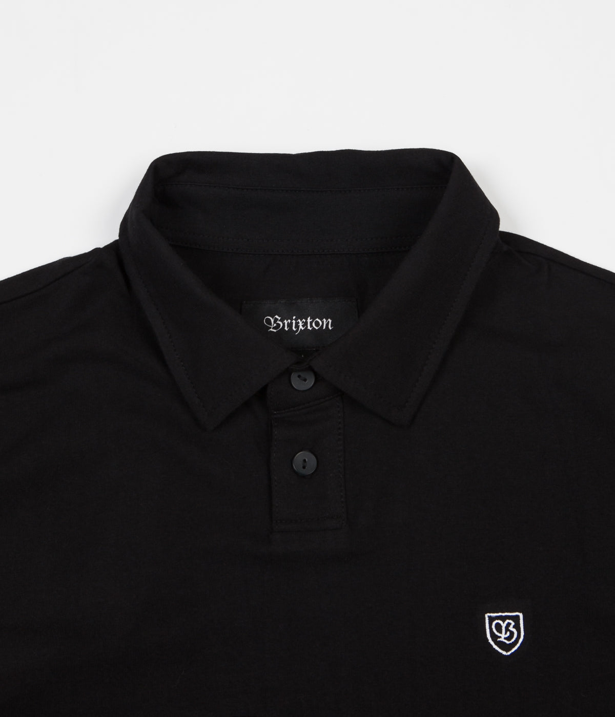 Brixton Carlos Polo Shirt - Black