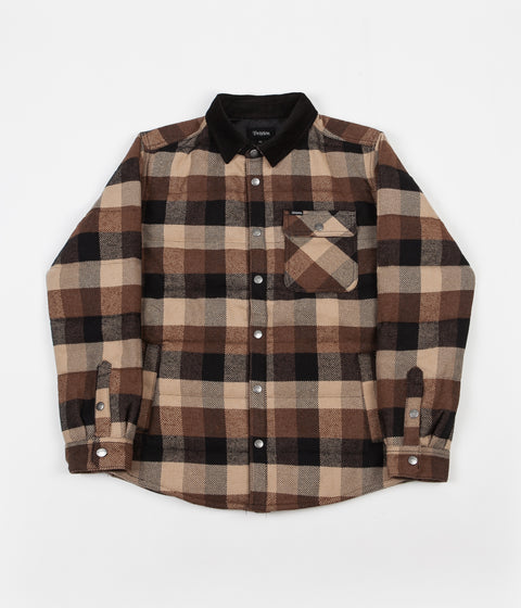 Brixton Cass Jacket - Black / Brown