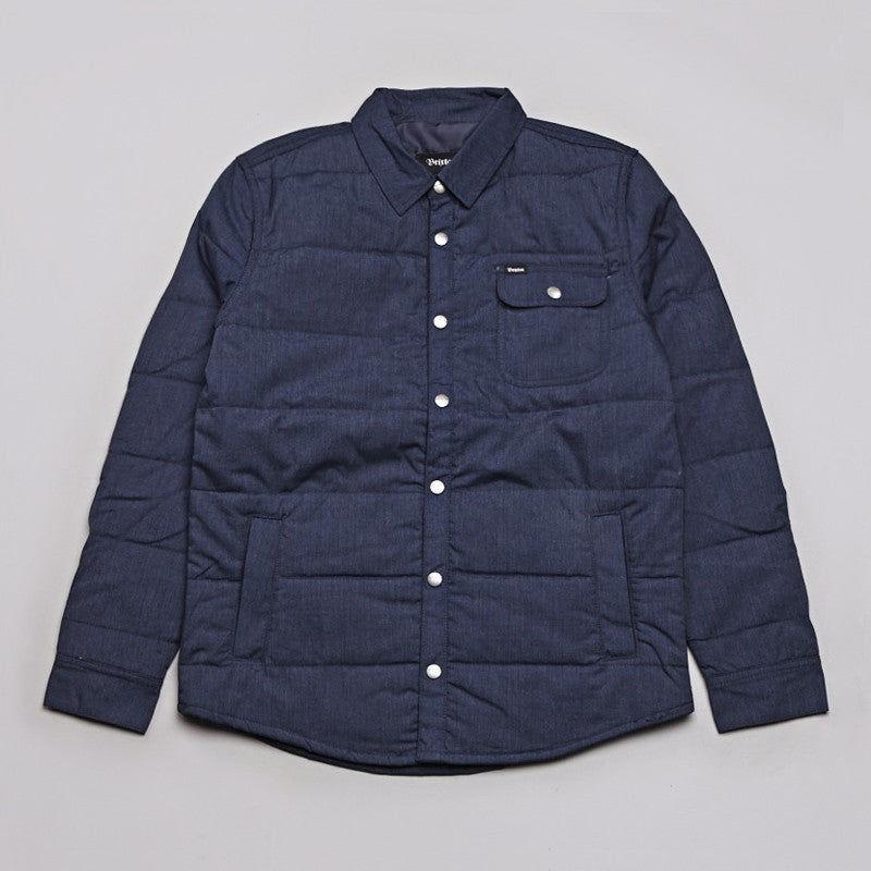 Brixton Cass Jacket Washed Blue