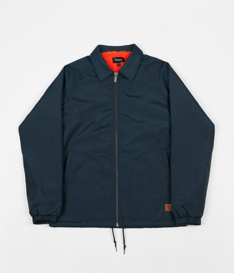Brixton Claxton Collar Sherpa Jacket - Captain Blue