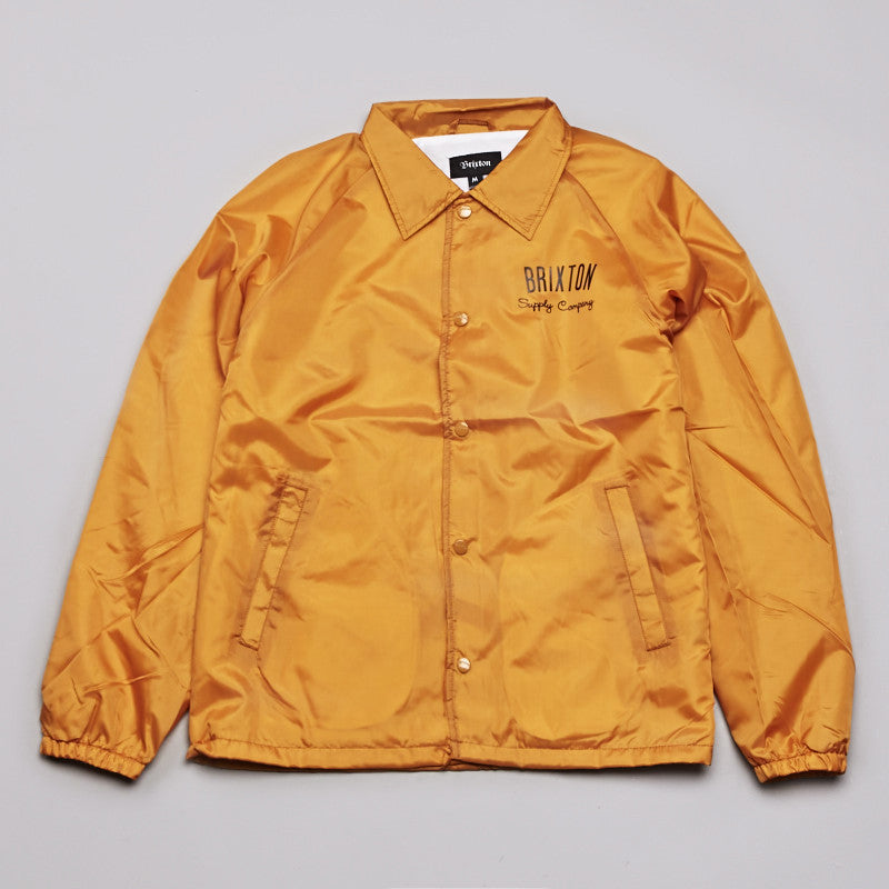 Brixton Clyde Jacket Gold