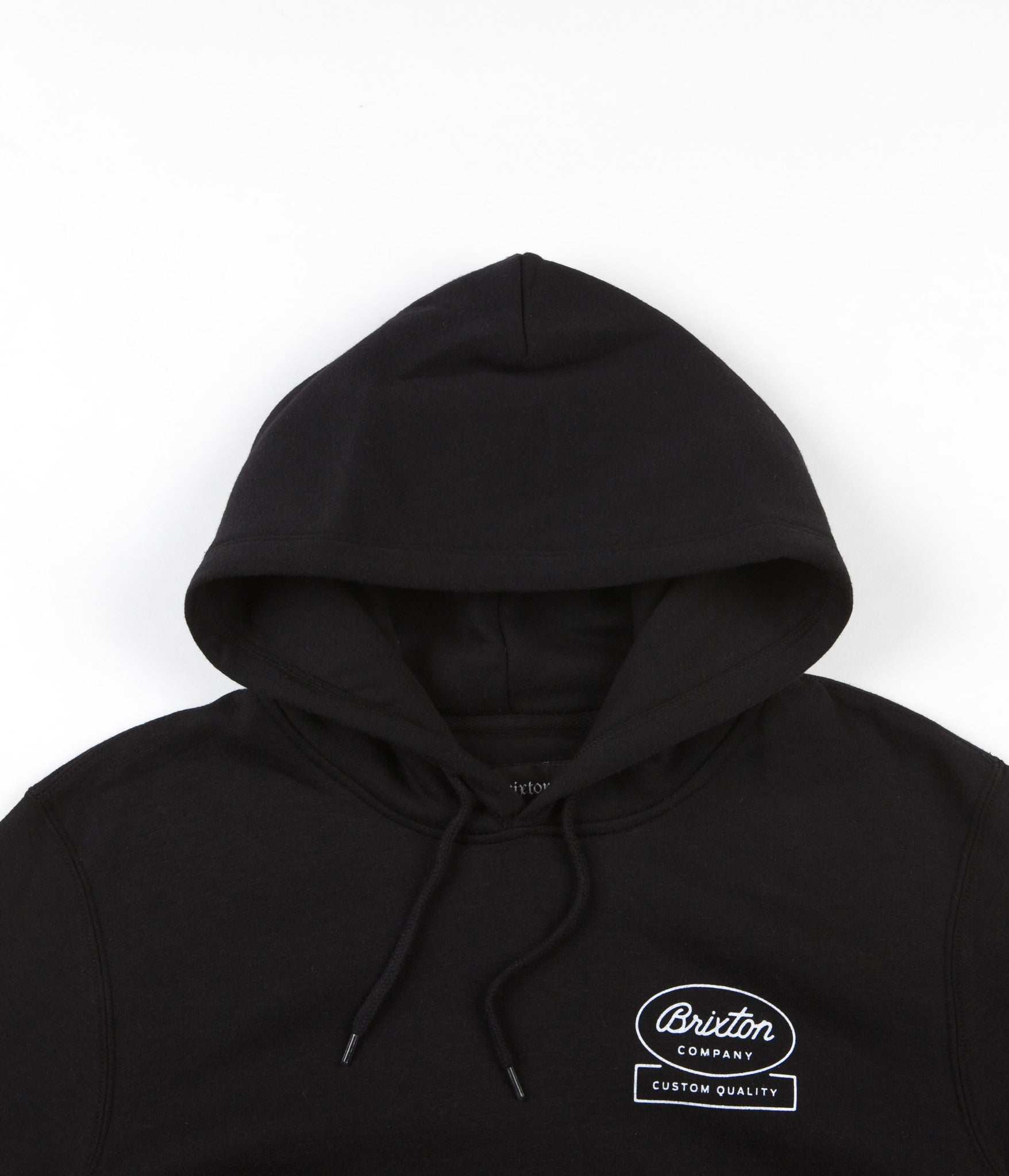 Brixton Dale Hooded Sweatshirt - Black
