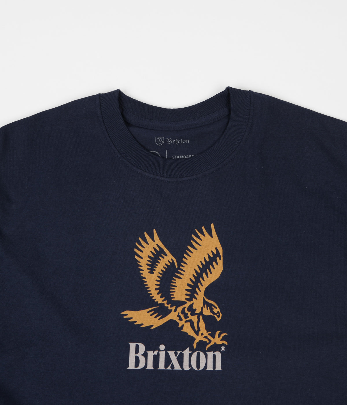 Brixton Descent III Long Sleeve T-Shirt - Navy