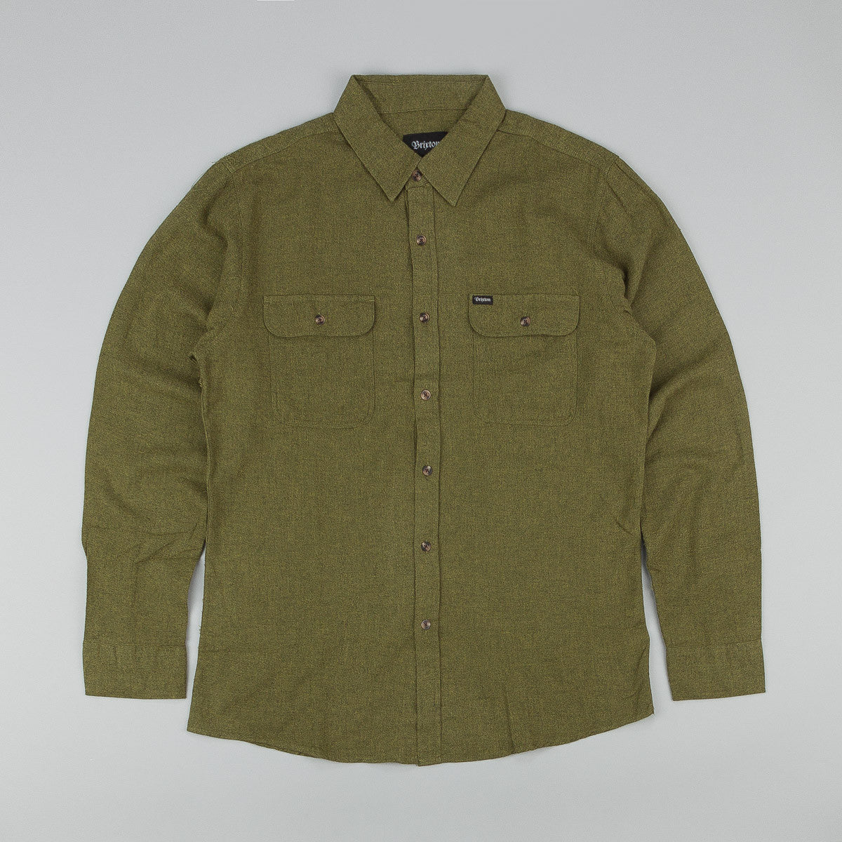 Brixton Donez Long Sleeve Flannel Shirt