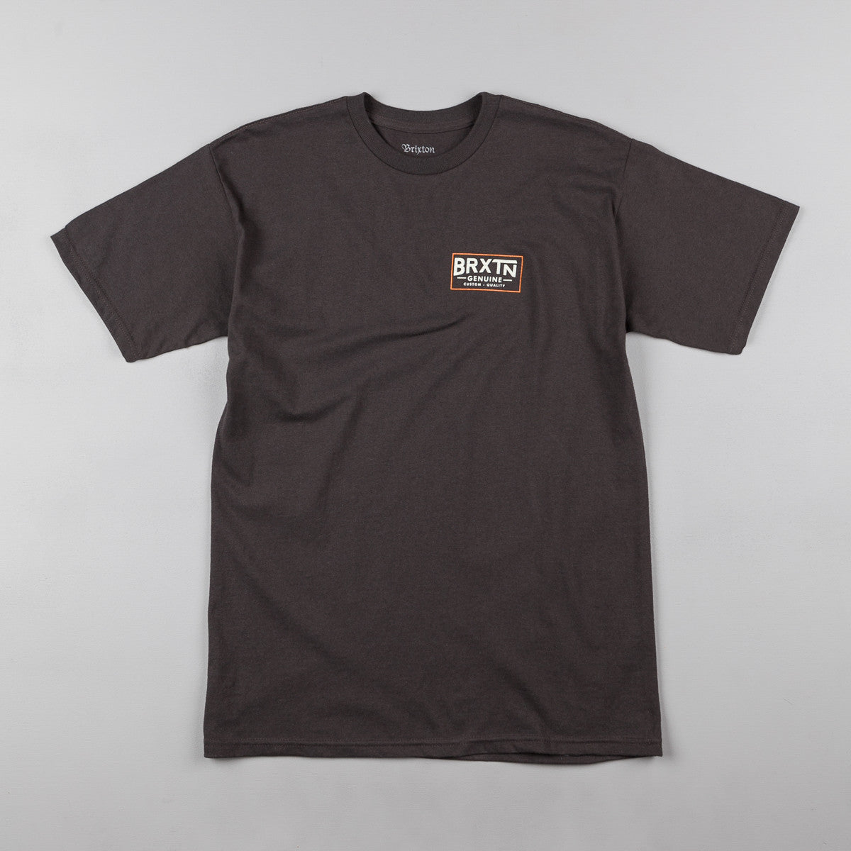 Brixton Dunning T-Shirt - Washed Black